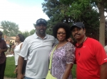 Earnest Wells, Sandra Coates & Ron Hudson