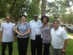 Ray Corsey, Cherie McHenry, Carlos Conger, Sandra Coates, Clifford Vigil